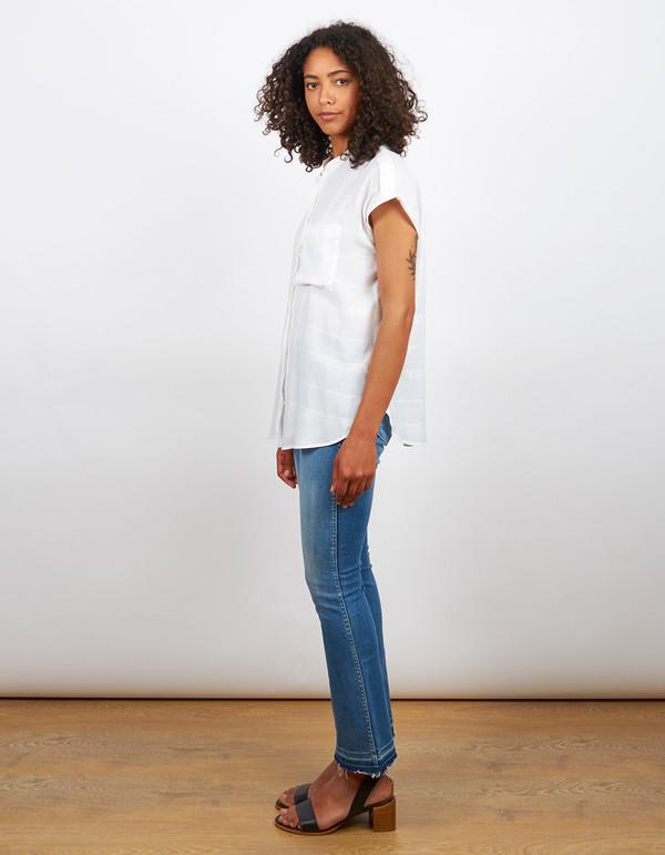 Filippa K Structure Stripe Shirt White