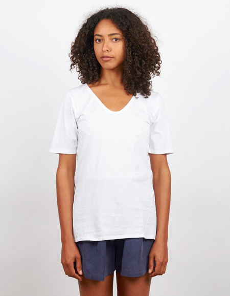 Kowtow Building Block V Tee White