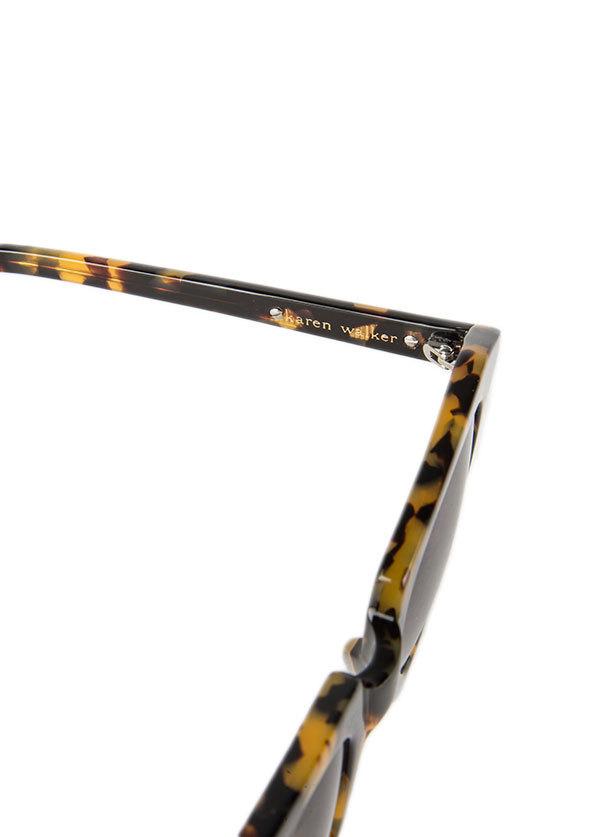 Karen Walker Eyewear - Number One in Crazy Tortoise