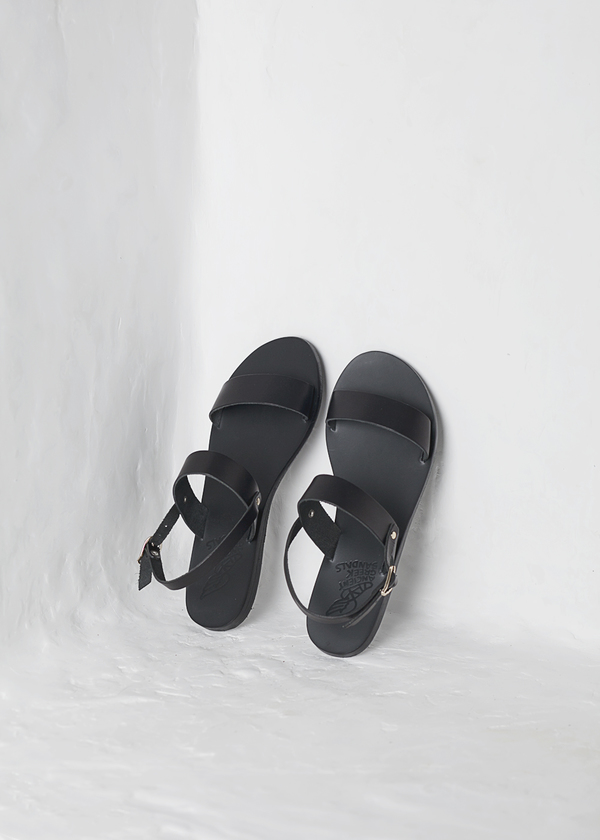 Ancient Greek Sandals Clio - black
