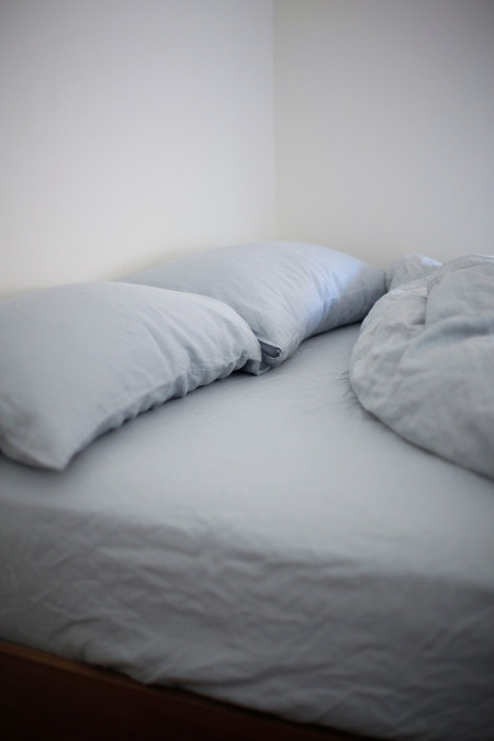 GOOD STUDIOS SLEEP GOOD HEMP LINEN FITTED SHEET