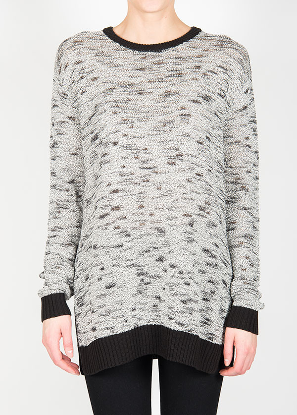 Line Knitwear - The Gill in Gravel