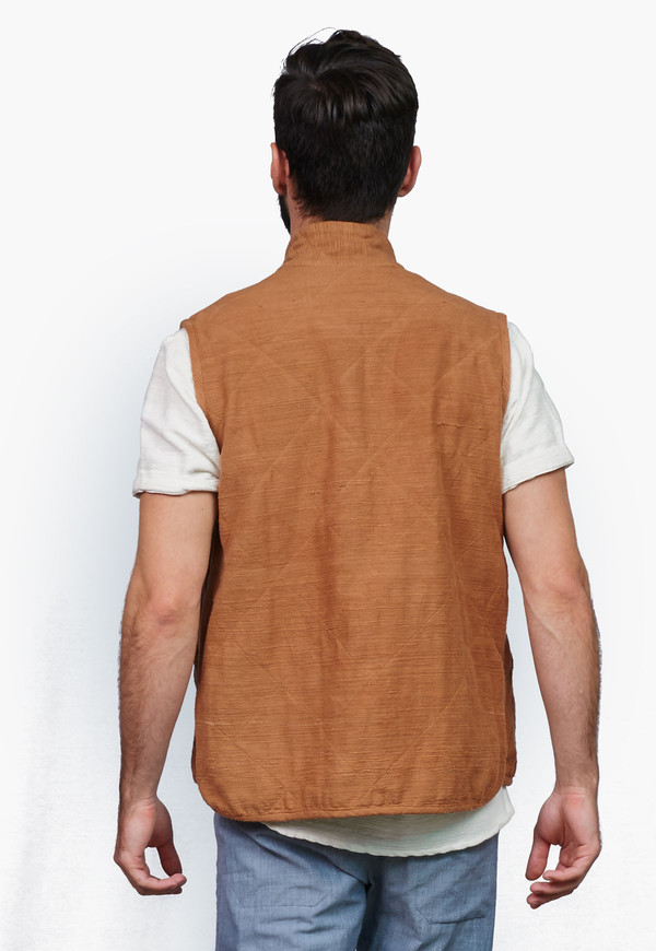 Men's Deshal Khoir Khadi Vest