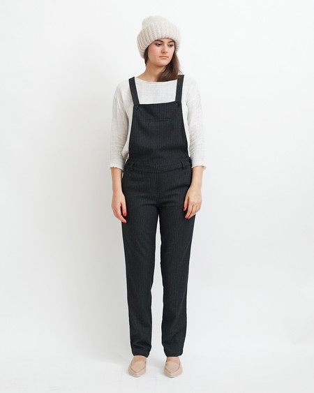 Sessun Amedeo Overalls in Black