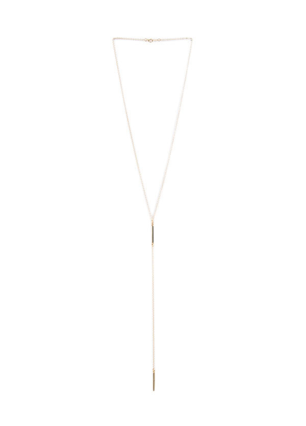Lisbeth - Lariat Necklace - Silver or Gold