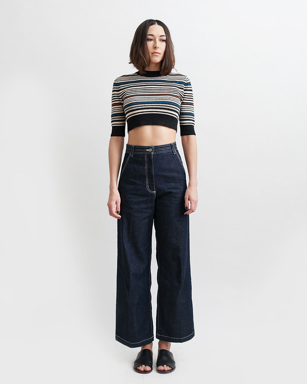 Rachel Comey Bishop Pant in Dark Indigo