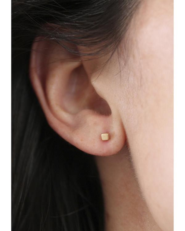 Lumo Cube Earring