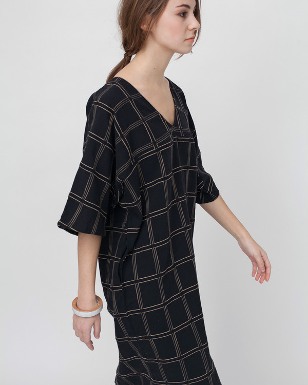 Ace & Jig Harper Dress in Black Magic