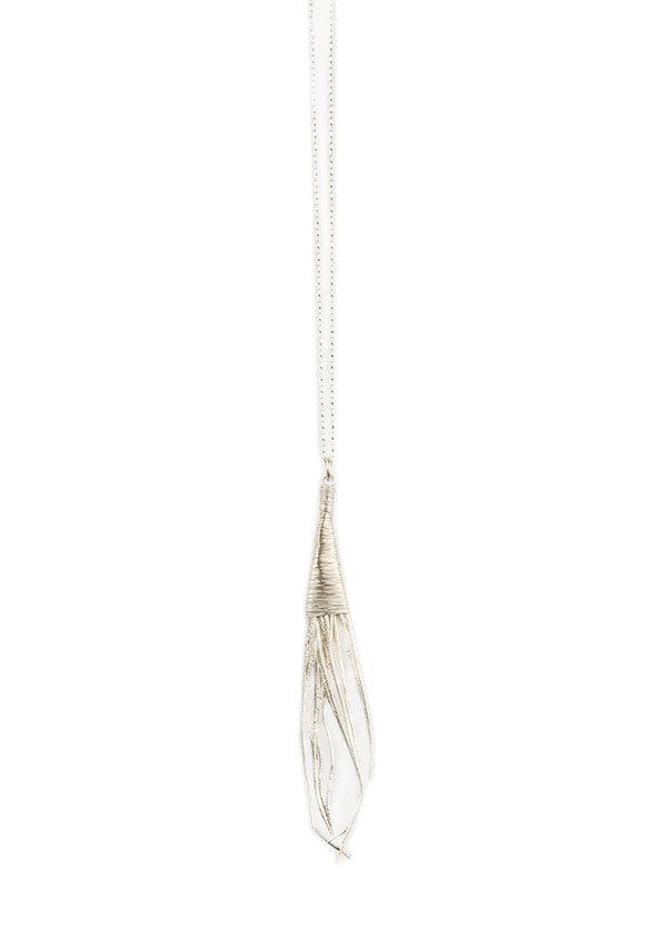 Mirit Weinstock - Big Oat Pendant in Silver