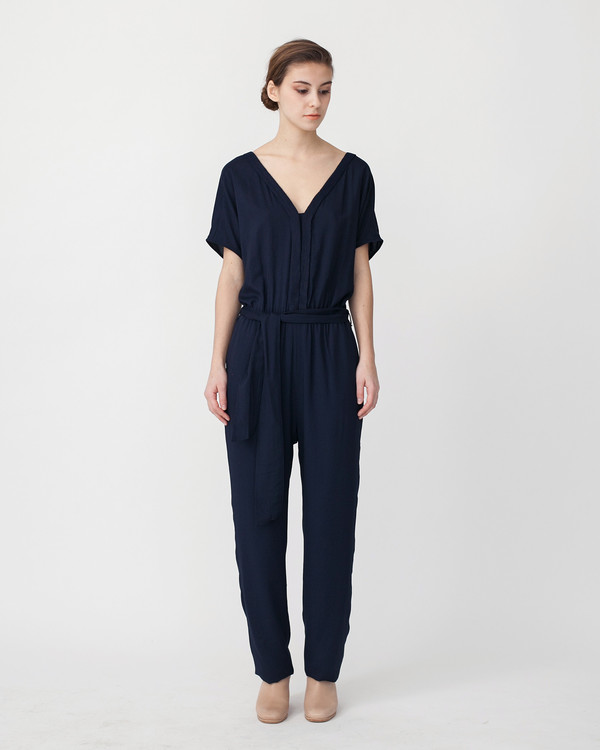Sessun Mara Jumpsuit in Navy