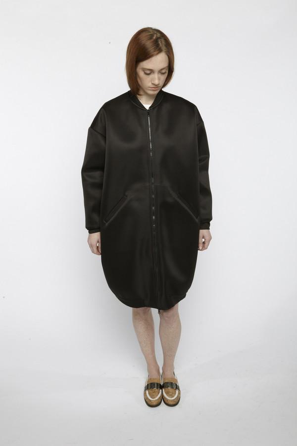 Suzanne Rae Neoprene Bomber Jacket