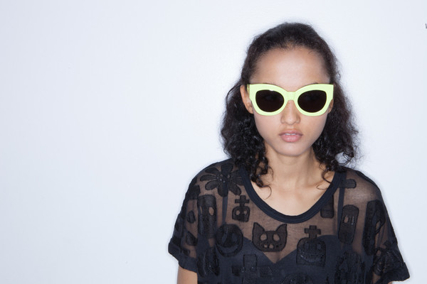 Karen Walker Northern Lights in Fluo yellow