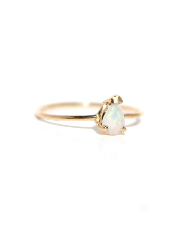 Lumo Princess Opal Ring