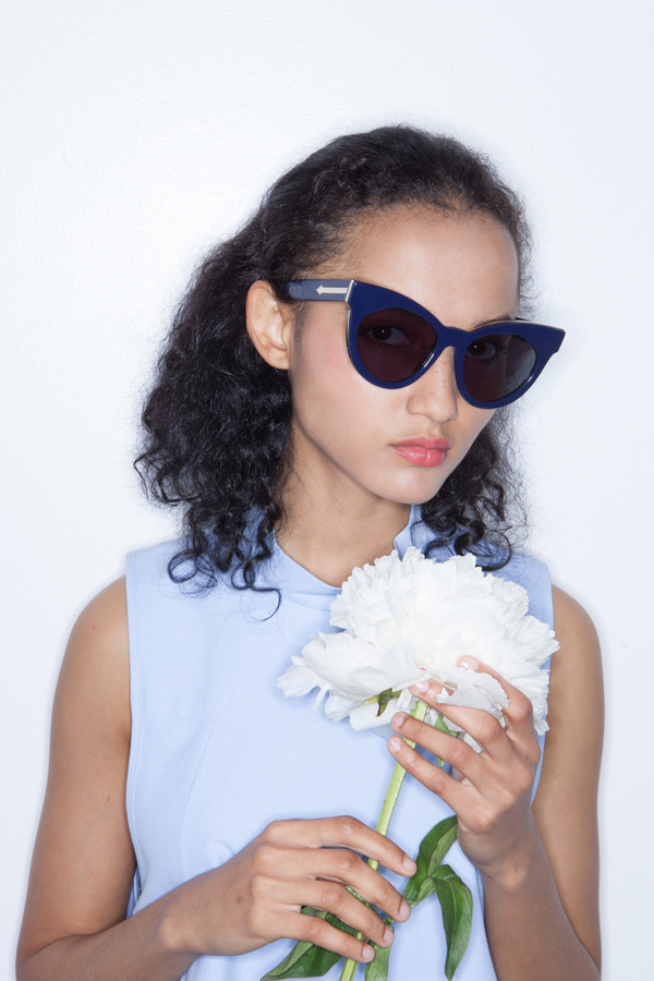 Karen Walker Starburst in Navy