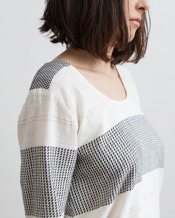 Ace & Jig Turnaround Pullover in Goddess