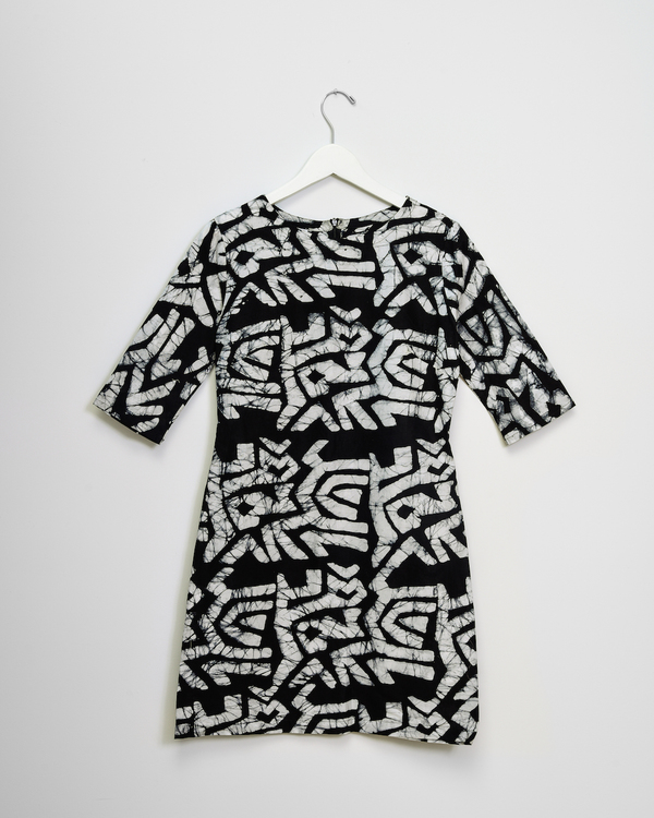 Osei-Duro Muto Dress in Labryrinth