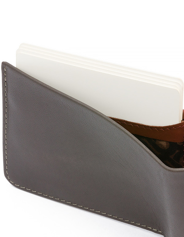 Men's Bellroy Low Down Wallet Charcoal