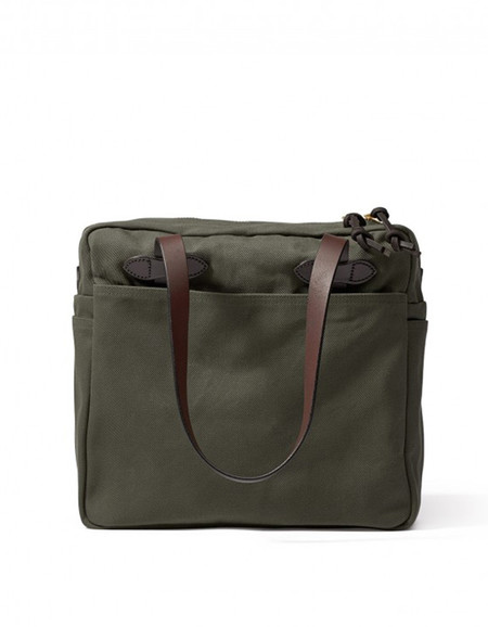 Filson Zippered Tote Otter Green