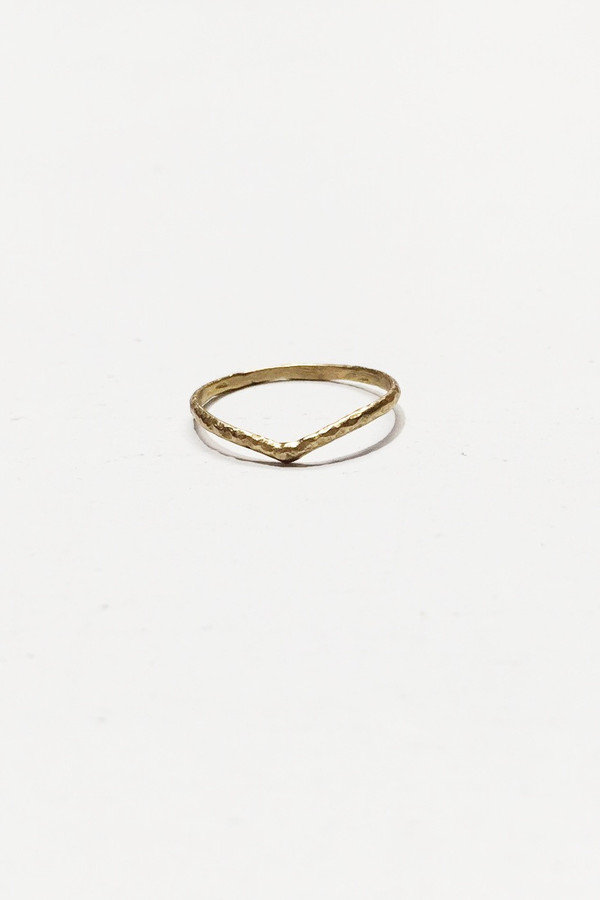 Nettie Kent Jewelry Astrid Ring - Brass