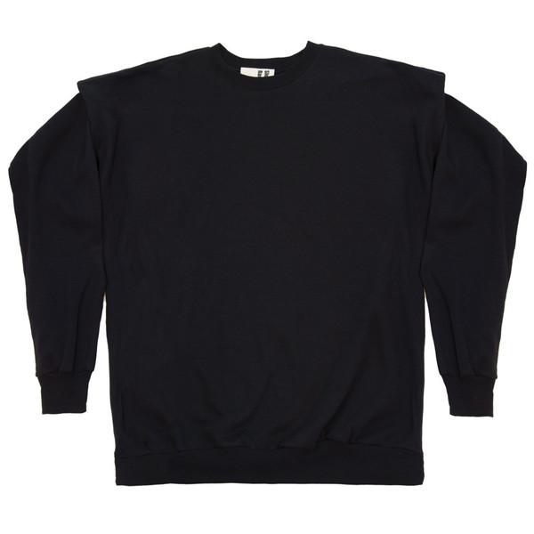 Funnel Shoulder in Black