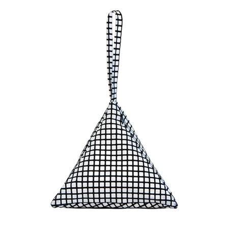 Slow and Steady Wins the Race Pyramid Bag, Grid