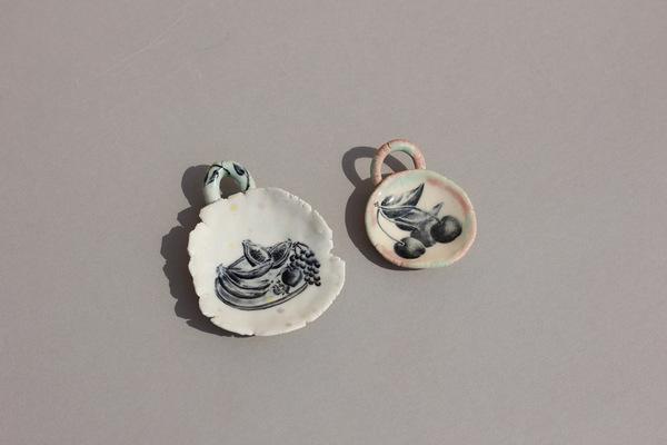 Minhs Little Pot Shop of Curiosities FRUIT PENDANTS