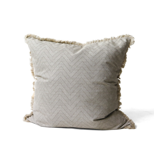 Erica Tanov fringed euro throw pillow