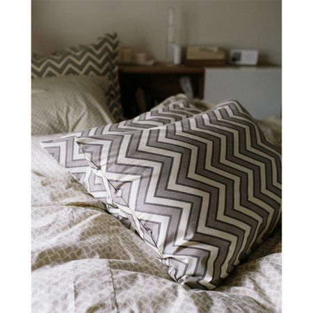 Erica Tanov zigzag pillowcases