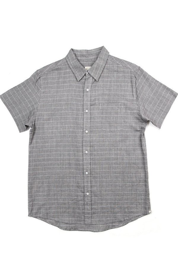 Bridge & Burn Men's Harbor Gray Stripe
