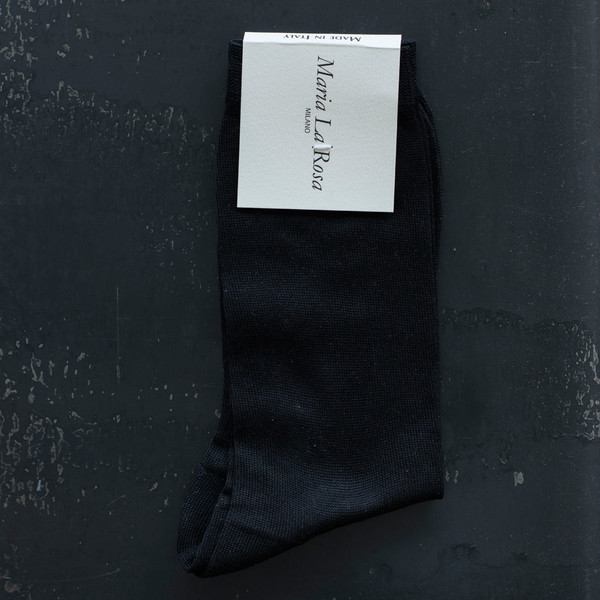 Maria La Rosa ONE Sock Black