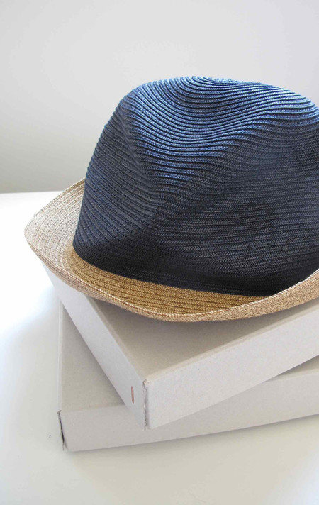 Two New York Mature Ha - Two tone Hat