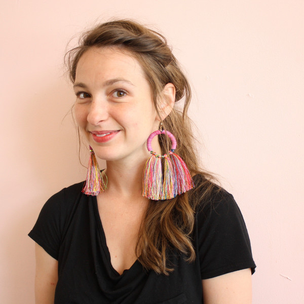 SJO Jewelry mahlangu fringe earrings
