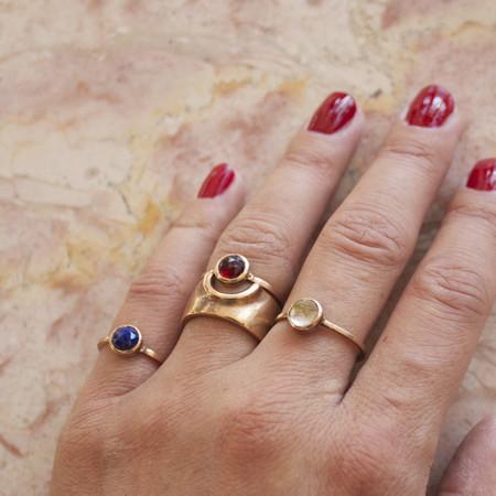 J Southern Studio simple stone rings