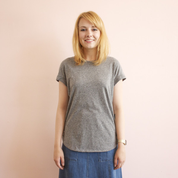 California Tailor Tomboy tee - gray
