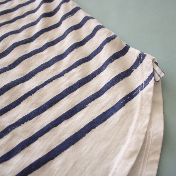 California Tailor Tomboy tee - Sea Cotton