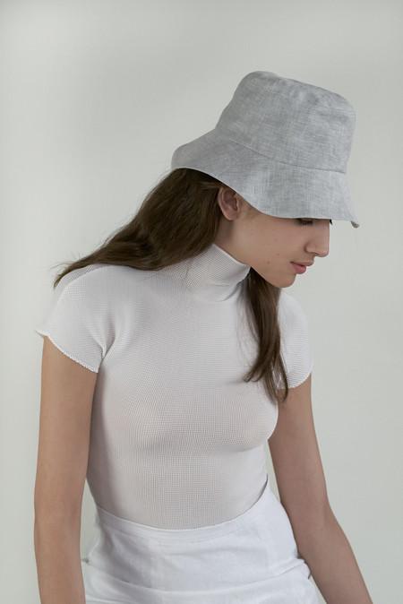 Clyde Bucket Hat in Cloud Melange