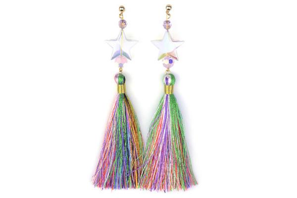 SJO Jewelry mumbai tassel earrings