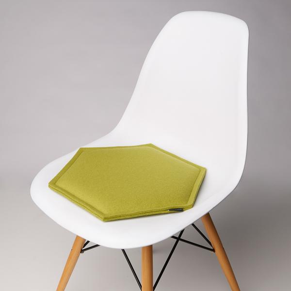 Zabuton Pistachio Honeycomb Seat Pad