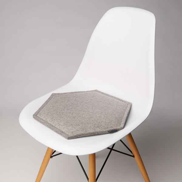 Zabuton Granite Honeycomb Seat Pad