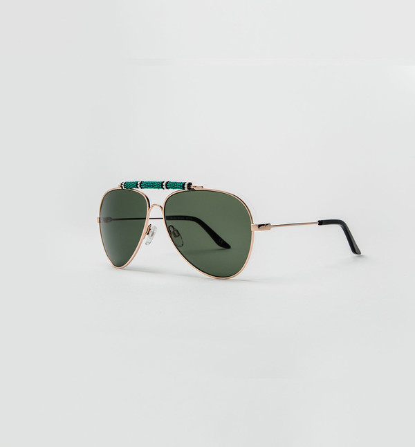 Michael Nelson Exclusive Sunglasses Green