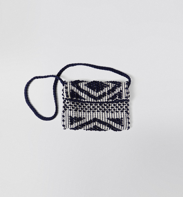 Antonello Rombi Clutch Navy