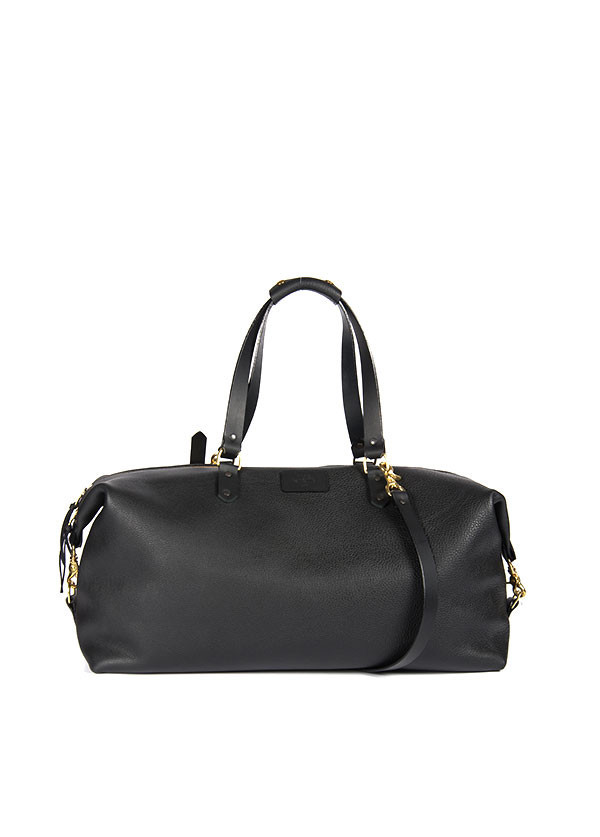 The Stowe - Dylan Duffel in Black