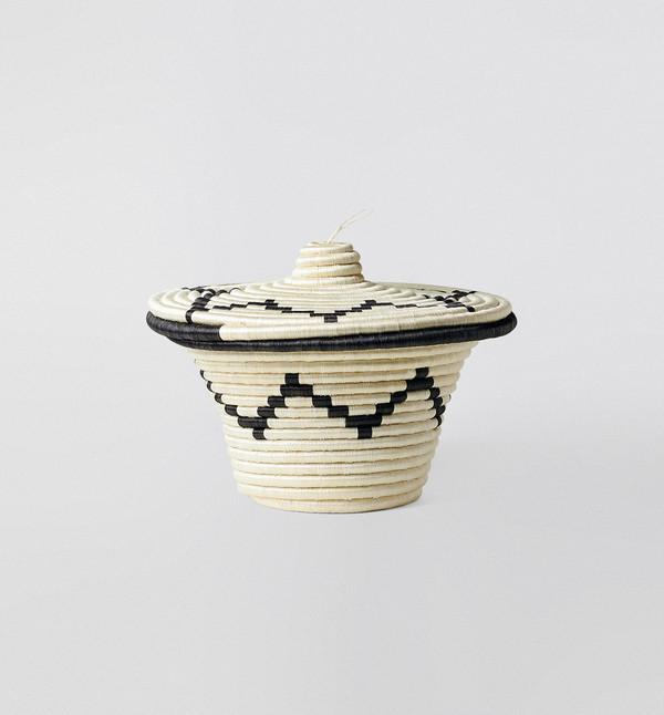 Indego Africa XL Lidded Basket