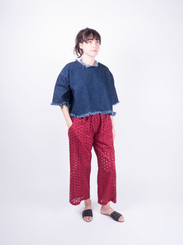 Nikki Chasin Patch Pant