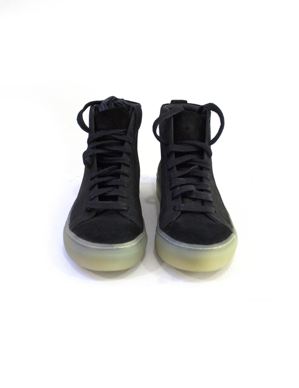 Silent by Damir Doma Felish High Top Black