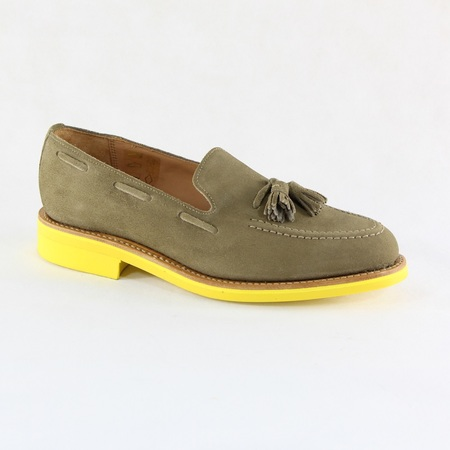 Men's Mark Mcnairy Dirty Buck Suede Tassel Loafer Tan