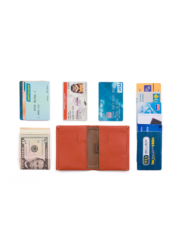 Bellroy Slim Sleeve Wallet Tamarillo
