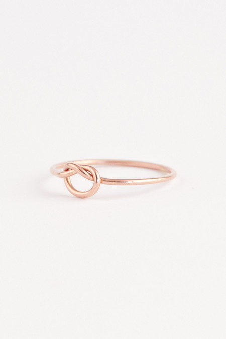 Emi Grannis Knot Ring 14k Rose Gold