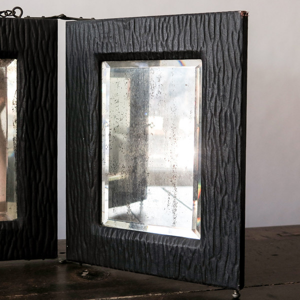 Erica Tanov three-panel mirror