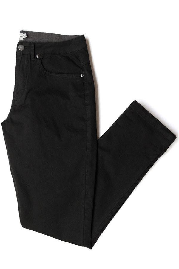 Men's Bridge & Burn Polk Twill Black Pants